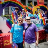 Wells Fargo Team Members celebrating PRIDE