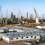 ModSpace photo: We support large petrochemical and industrial operations across North America.