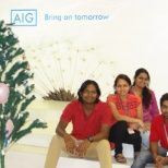 Mindtree photo: Celebrating Christmas