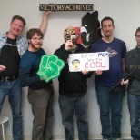 Study.com photo: Our Tools & Platform Team made it out of the escape room #teamevents