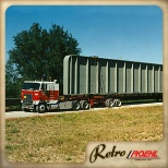 This an older image showing the types of freight our flatbed drivers hauled in the 1980s.