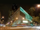 Juilliard at night