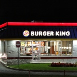 Burger King photo: The outside of a company