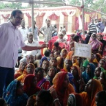 Mobilizing the Women of SHG for participate and get benefit for Bal Kuposhan Mukt Bihar Abhiyan.