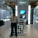 Sony Mobile photo: Exposisicion sony
