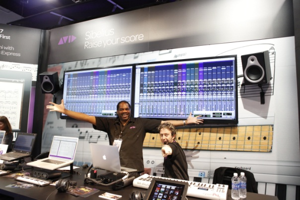 Another pic at NAMM