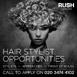 photo of RUSH Hair and Beauty, HAIR STYLIST OPPORTUNITIES