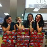 Christmas time at Sears with my Co-Workers