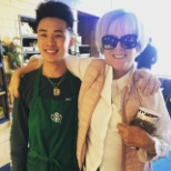 foto de Starbucks, This is one of the regular customers that I really bonded with and got the opportunity know her.