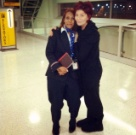 I met Sharon Osbourne! She was so sweet and nice, not like other stuck up celebs.