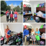 Source4Teachers donates to Our Lady of Lourdes Medical Center 9th Annual Backpack Drive!