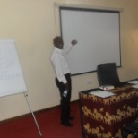presenting at the workshop