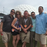 Staff Perm photo: Fun at the Byron Nelson!