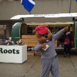 Buddy The Beaver Mascot comes out on special Occasions to promote special events