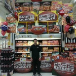 The Schwan Food Company photo: Superbowl display contest