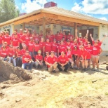 KW Classic giving back on RED Day 2015 - helping build a home for Habitat for Humanity
