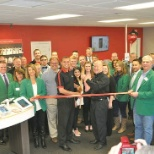 Wireless World photo: Chamber of Commerce Ribbon Cutting at our newly remodeled location in Le Mars, IA.