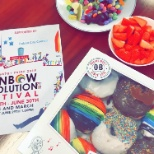 Rainbow Coffee Morning for Pride Festival!