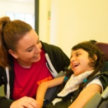 YMCA photo: Disability playworker