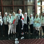 Almost Family photo: Employee Relations Dept on Halloween - 101 Dalmatians