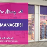 Claire's photo: Check out our Manager vacancies!