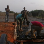 Floor slab reinforcement