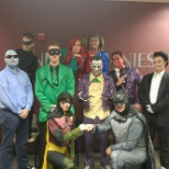SNI Companies photo: Jacksonville IT team at our Halloween Sales Blitz!