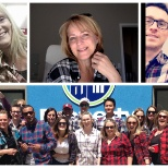 PropertyGuys.com photo: The team supporting Plaid For Dad and fundraising for Prostate Cancer Canada