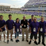 AMPTHINK photo: With the AmpThink crew before a TCU football game.