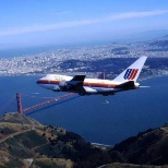 United Airlines 747SP turning over SFO, circa 1992...