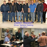 Carry Transit photo: Driver's Training Meeting 2017