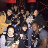 QualiTest Group photo: Laser Tag