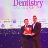 Bupa Dental dentist Michael Crilly wins Young Dentist of the Year award the The Dentistry Awards