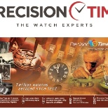 Precision Time photo: Precision Time Logo and Timeline