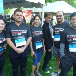 Part of our awesome IT Team representing at the Chase Corporate Challenge!