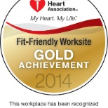 Penn Medicine is a 2014 American Heart Association Fit-Friendly Worksite.
