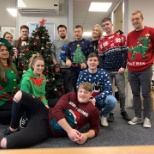 SmartSimple's Dublin team is looking mighty good for their Christmas party