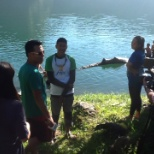 Shoot for feature story about the majestic lake Holon
