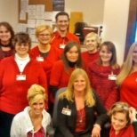 Hudson Headwaters Health Network photo: Wear Red Day