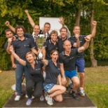 Win as a Team bij de One Wolters Kluwer sportdag,met als winning team Tax and Accounting!