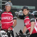 Corporate Challenge participants. Go team Lennox!