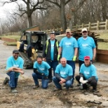Aqua's Ripple Effect program in action. Employees volunteering in our communities.