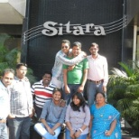 Team Lunch at Hotel Sitara