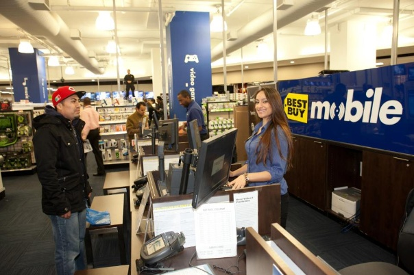 This is me working at Best Buy Union Square.