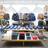 Visual Merchandise store standard for winter collections in Vero Moda brand