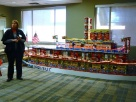 Employees collected 3,500 lbs food & $3,200+  in donations for Tri-Cities Food Bank in Oct, 2012