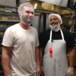 Kitchen staff is silly and fun.