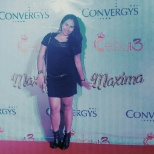 during convergy's christmas party held at Icon resto and bar