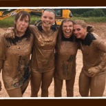 Speedy colleagues get muddy in the Tough Mudder challenge for their chosen charities.
