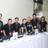 HPE Philippines team at a Career event